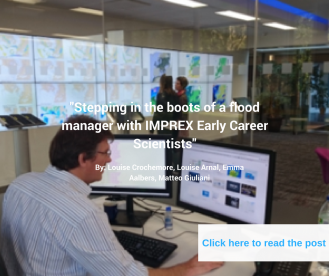 Stepping in the boots of a flood manager