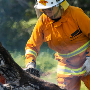 Firefighter in Australia